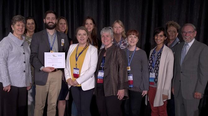AZ Nexus interprofessional award acceptance at Nexus Summit 2018