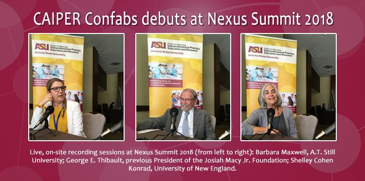 CAIPER Confabs at Nexus Summit 2018