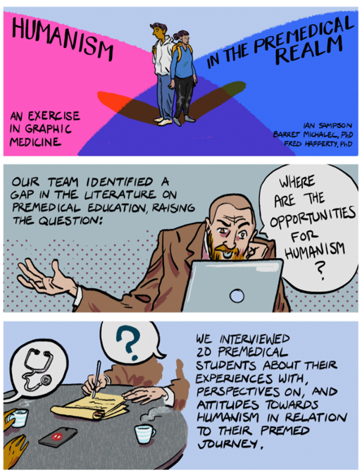 Humanism in the Premedical Realm: An Exercise in Graphic Medicine