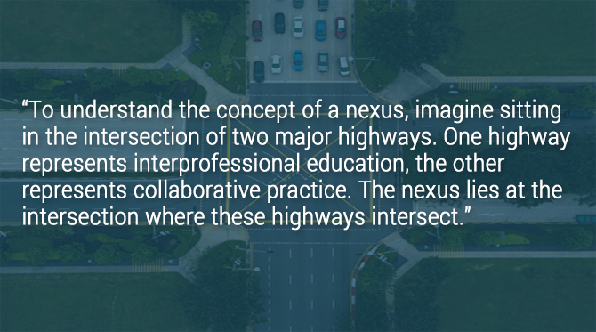 Intersections of interprofessional education and practice