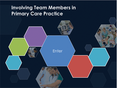 Involving Team Members in Primary Care Practice