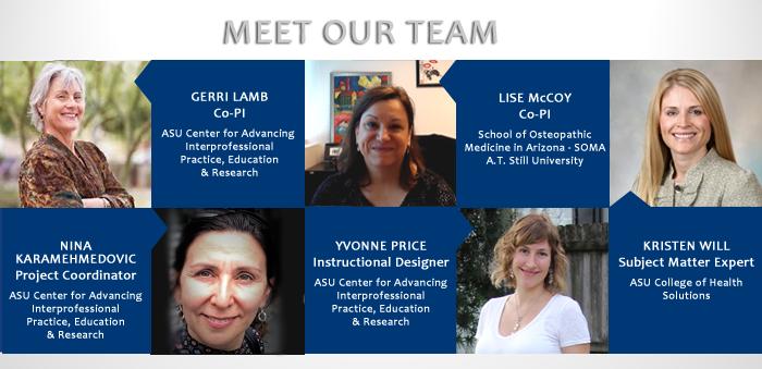Macy President's Award Interprofessional Project Team