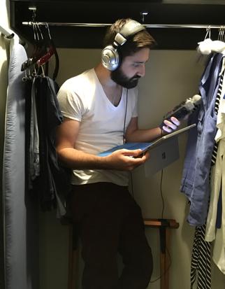 Closet sound booth at Nexus Summit 2018